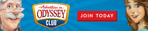 Join the Adventures in Odyssey club